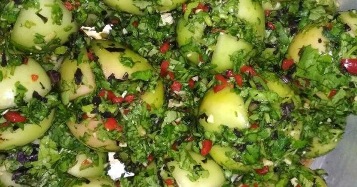 farshirovanye-zelenye-pomidory-po-gruzinski