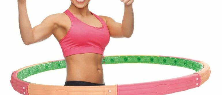 хулахуп для похудения резиновый