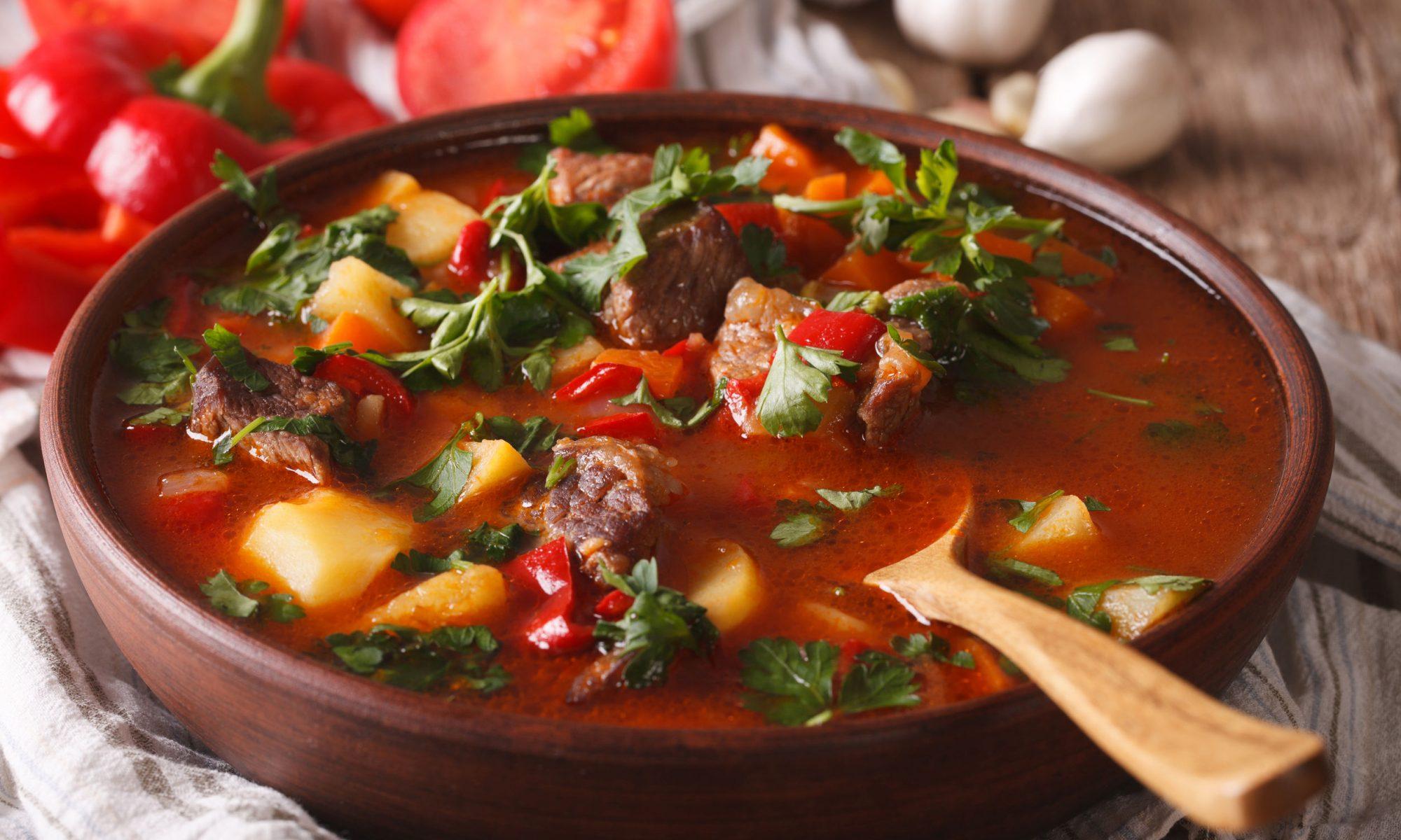Бограч по-венгерски рецепт