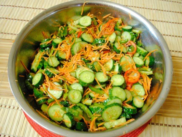 Огурцы по-корейски рецепты